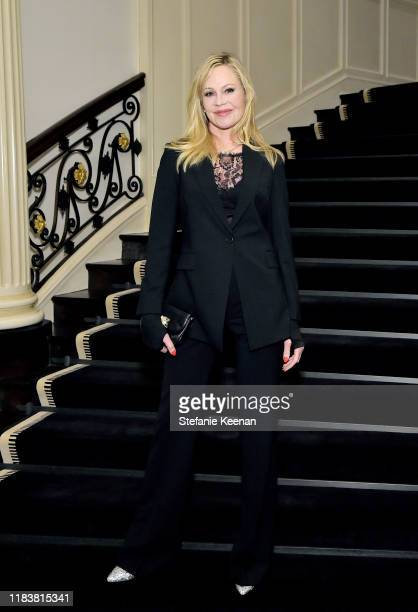 Melanie Griffith attends VIOLET GREY x Victoria Beckham Beauty LA Dinner hosted by Lynda Resnick and Cassandra Grey at a Private Residence on...