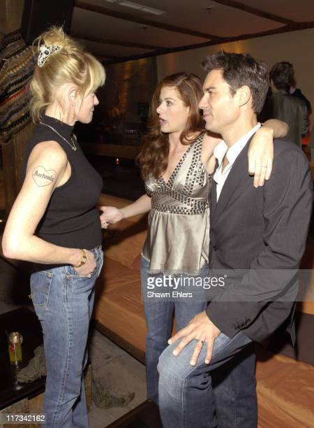 Melanie Griffith Debra Messing and Eric McCormack