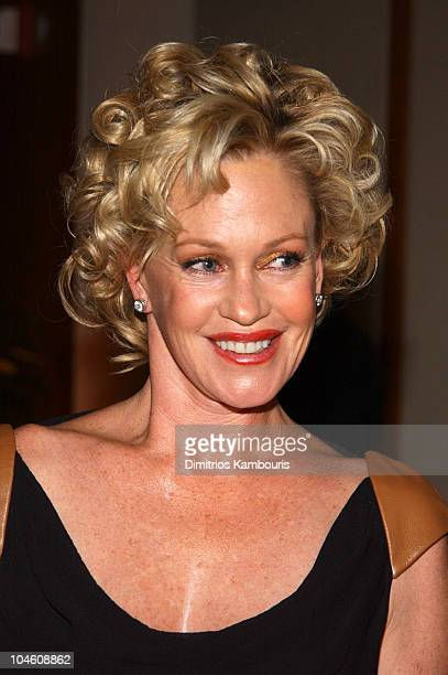 Melanie Griffith during QVC Presents The 9th Annual FFANY Shoes on Sale at Pier Sixty Chelsea Piers in New York City New York United States