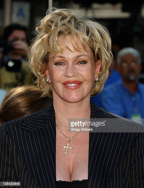 Melanie Griffith during 'Shrek 2' Los Angeles Premiere at Mann Village Theatre in Westwood California United States