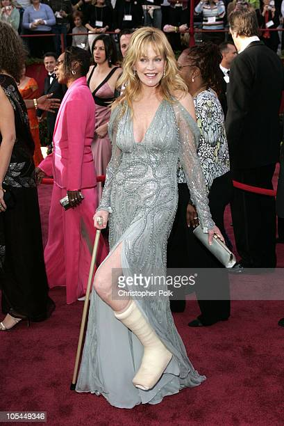 Melanie Griffith during The 77th Annual Academy Awards Arrivals at Kodak Theatre in Los Angeles California United States