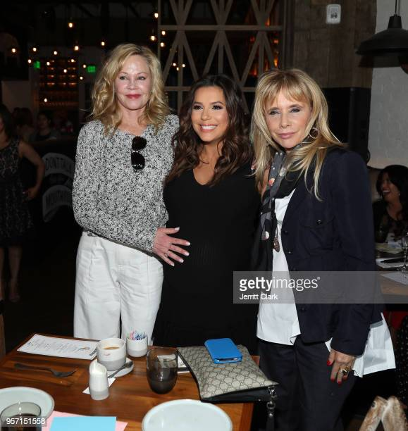 Melanie Griffith Eva Longoria and Rosanna Arquette attend the the Global Gift Foundation USA Women's Empowerment Luncheon at Yardbird Southern Table...