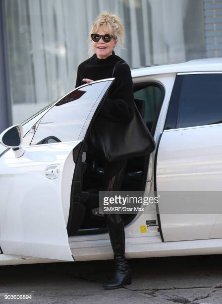 Melanie Griffith is seen on January 10 2018 in Los Angeles CA