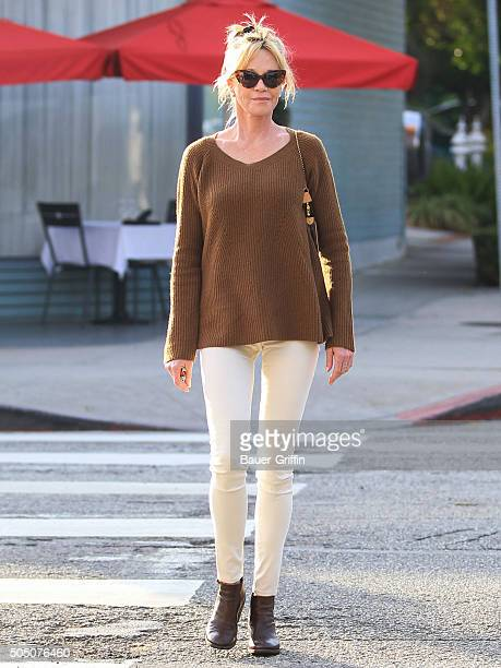 Melanie Griffith is seen on January 14 2016 in Los Angeles California
