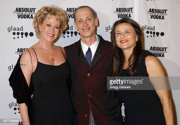 Melanie Griffith, John Waters and Tracey Ullman during The 15th GLAAD Media Awards - Los Angeles - Arrivals at Kodak Theatre in Hollywood,...