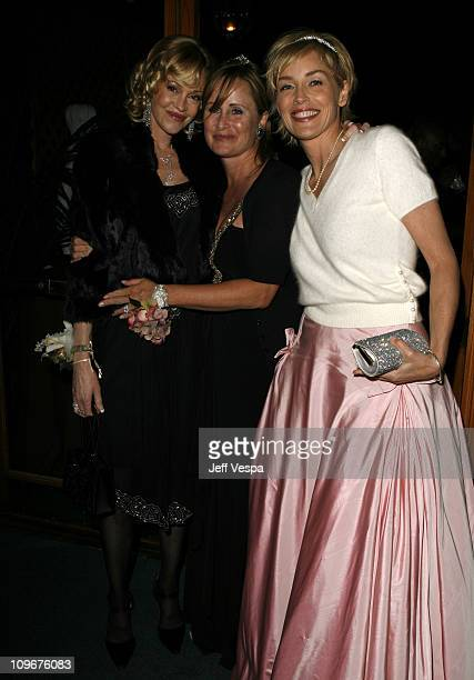 Melanie Griffith Kelly Stone and Sharon Stone during Sharon Stone and Kelly Stone Host the 1st Annual 'Class of Hope Prom 2007' Charity Benefit Red...