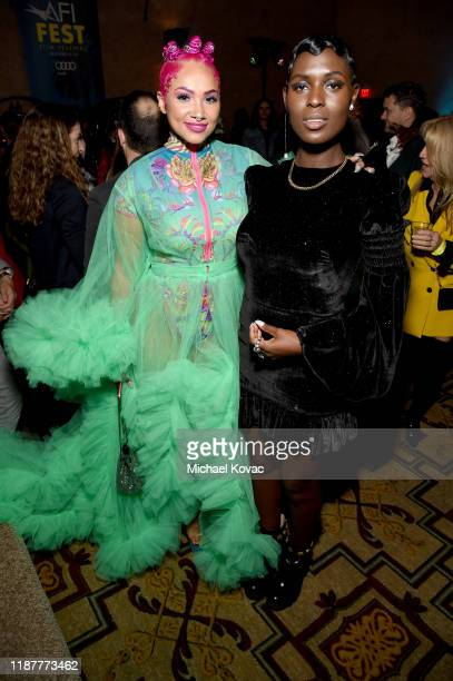 Melanie Halfkenny and Jodie TurnerSmith attend the after party for the Opening Night Gala premiere of Queen Slim at AFI FEST 2019 Presented By Audi...