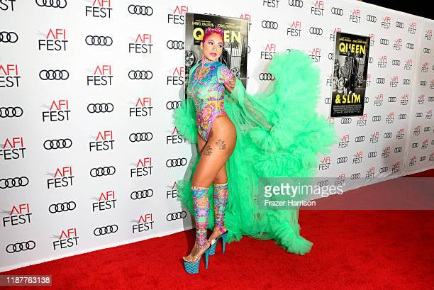 """Melanie Halfkenny attends the """"Queen & Slim"""" Premiere at AFI FEST 2019 presented by Audi at the TCL Chinese Theatre on November 14, 2019 in..."""
