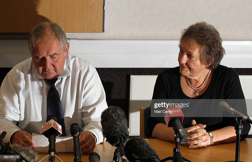 Parents of Melanie Hall Appeal For Information One Year On From The Discovery of Daughter's Remains : News Photo