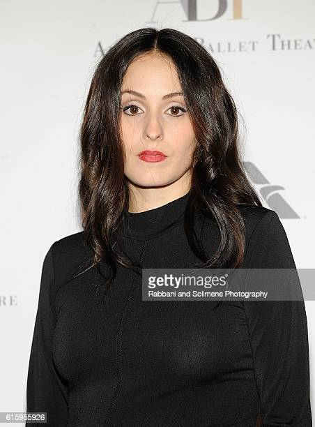 Melanie Hamrick attend the American Ballet Theatre 2016 Fall Gala at David H Koch Theater at Lincoln Center on October 20 2016 in New York City