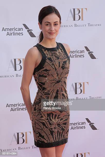 Melanie Hamrick attends the 2016 American Ballet Theatre Spring Gala at The Metropolitan Opera House on May 16 2016 in New York City