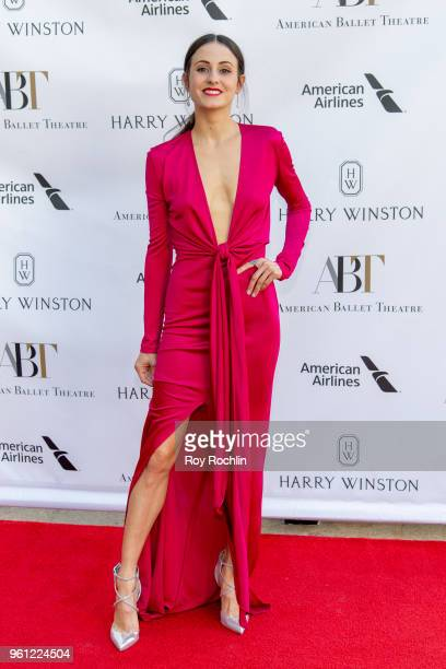 Melanie Hamrick attends the 2018 American Ballet Theatre Spring Gala at The Metropolitan Opera House on May 21 2018 in New York City