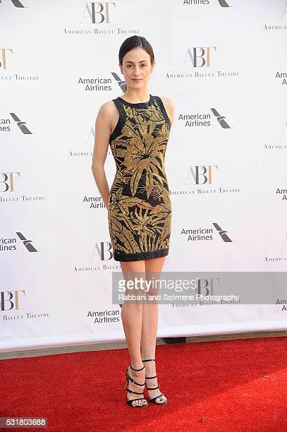 Melanie Hamrick attends the American Ballet Theatre Spring Gala at The Metropolitan Opera House on May 1