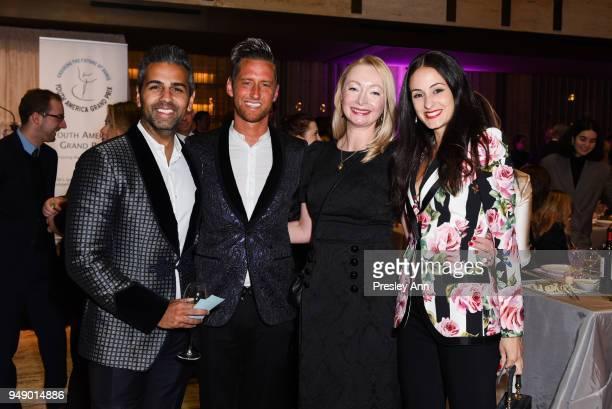 Melanie Hamrick attends YAGP Stars of Today Meet The Stars of Tomorrow 2018 Gala on April 19 2018 in New York City