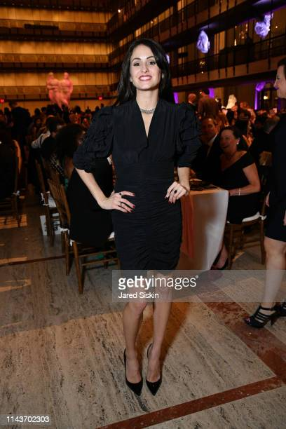 Melanie Hamrick attends YAGP's 20th Anniversary Gala 'Stars Of Today Meets The Stars Of Tomorrow at David Koch Theatre at Lincoln Center on April 18...