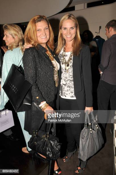 Melanie Holland and Annie Taube attend CAROLINA HERRERA Hosts LARRY FINK's New Book NIGHT AT THE MET in Support of FASHION's NIGHT OUT at Carolina...