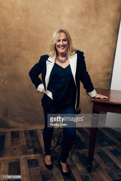 Melanie Hutsell of the film 'Mother's Little Helpers' poses for a portrait at the 2019 SXSW Film Festival Portrait Studio on March 9 2019 in Austin...