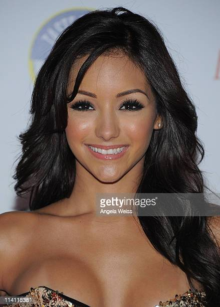 Melanie Iglesias arrives at Maxim's Hot 100 Party at Eden on May 11 2011 in Hollywood California