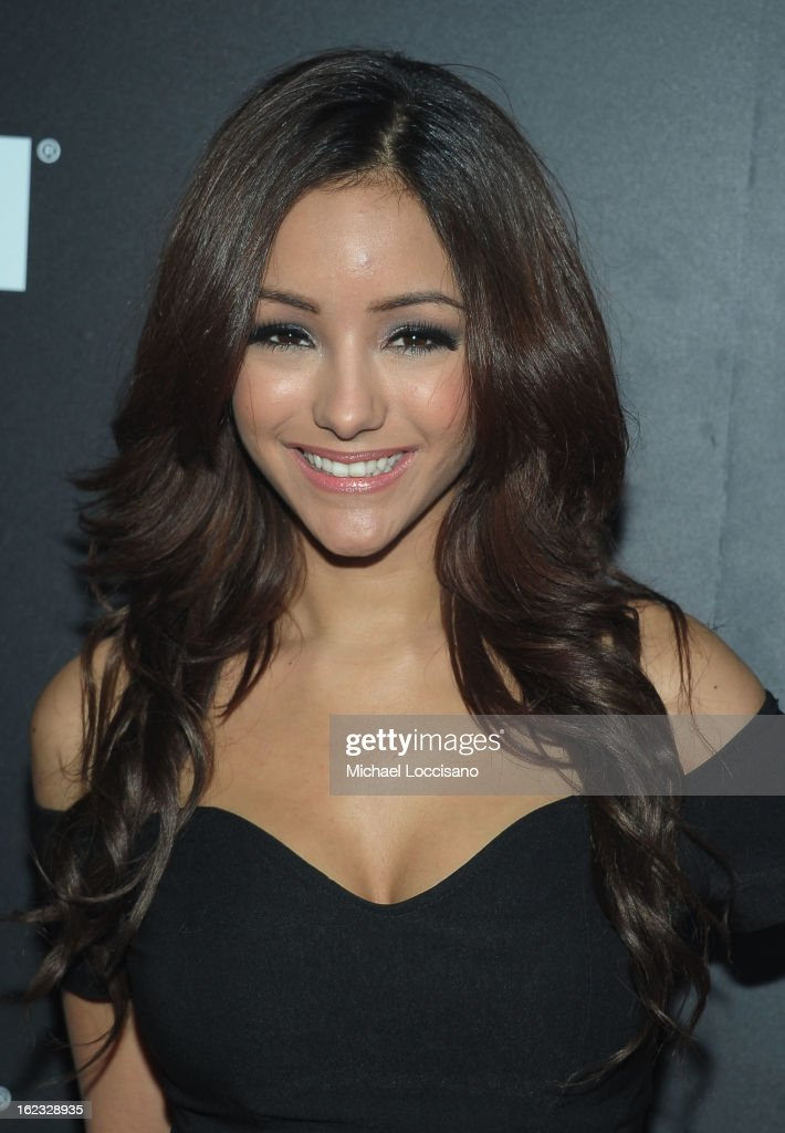 Melanie Iglesias attends The New Billboard Launch Event at Stage 48 on February 21, 2013 in New York City.