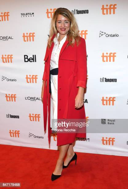 Melanie Joly Minister of Canadian Heritage attends The World Premiere of the Limited Series 'Alias Grace' starring Sarah Gadon from Sarah Polley...