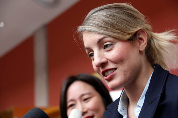 CAN: Canada's Foreign Affairs Minister Melanie Joly