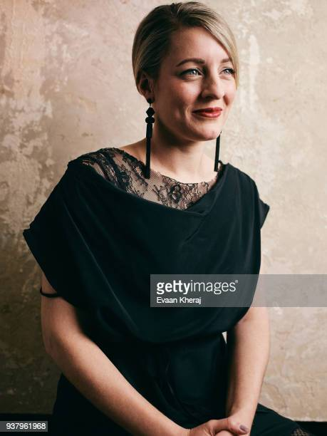 Melanie Joly poses for a portrait at the YouTube x Getty Images Portrait Studio at 2018 Juno's Gala Awards Dinner on MARCH 25th 2018 in Vancouver BC