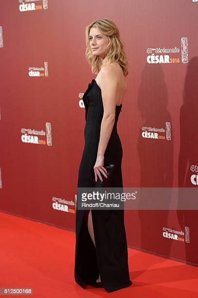 Melanie Laurent arrives at The Cesar Film Awards 2016 at Theatre du Chatelet on February 26 2016 in Paris France
