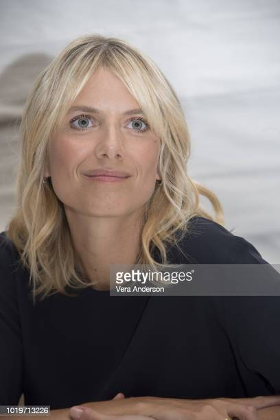 Melanie Laurent at the Operation Finale Press Conference at the Essex House on August 18 2018 in New York City