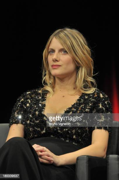 Melanie Laurent attends the 5th Lyon Film Festival on October 18 2013 in Lyon France