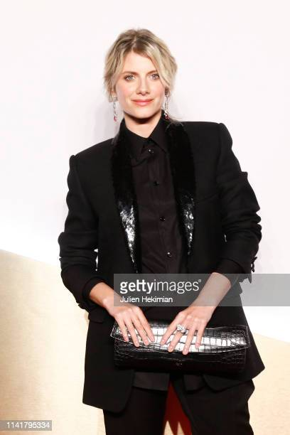 Melanie Laurent attends the 'Clash De Cartier' Launch Photocall At La Conciergerie In Paris on April 10 2019 in Paris France