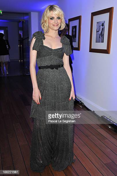 Melanie Laurent attends the Dior Dinner at Hotel du Cap Eden Roc during the 63rd Cannes Film Festival on May 21 2010 in Antibes France