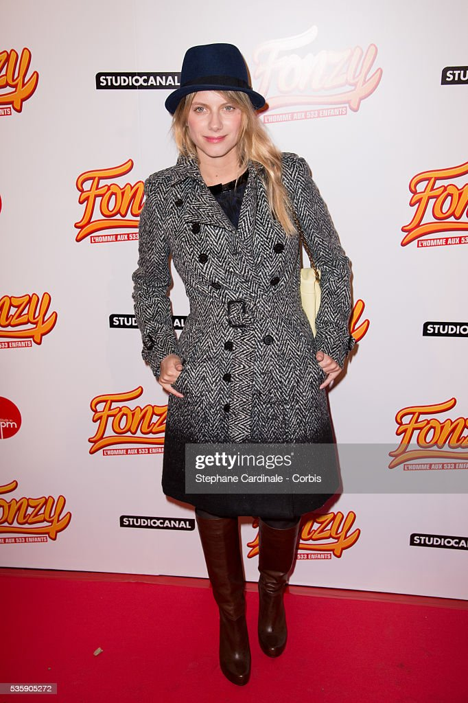 Melanie Laurent attends the 'Fonzy' Paris Premiere at Cinema Gaumont Opera, in Paris.