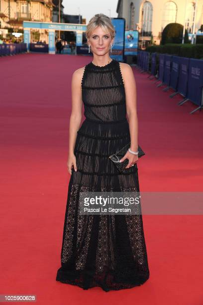 Melanie Laurent attends the Galveston Premiere during the 44th Deauville American Film Festival on September 1 2018 in Deauville France