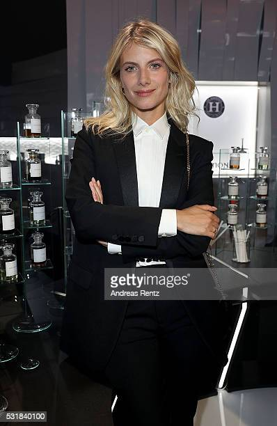 Melanie Laurent attends The Harmonist Cocktail Party during The 69th Annual Cannes Film Festival at Plage du Grand Hyatt on May 16 2016 in Cannes
