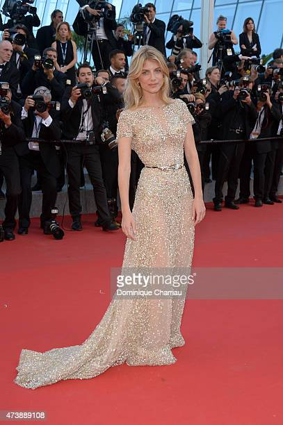 Melanie Laurent attends the 'Inside Out' Premiere during the 68th annual Cannes Film Festival on May 18 2015 in Cannes France