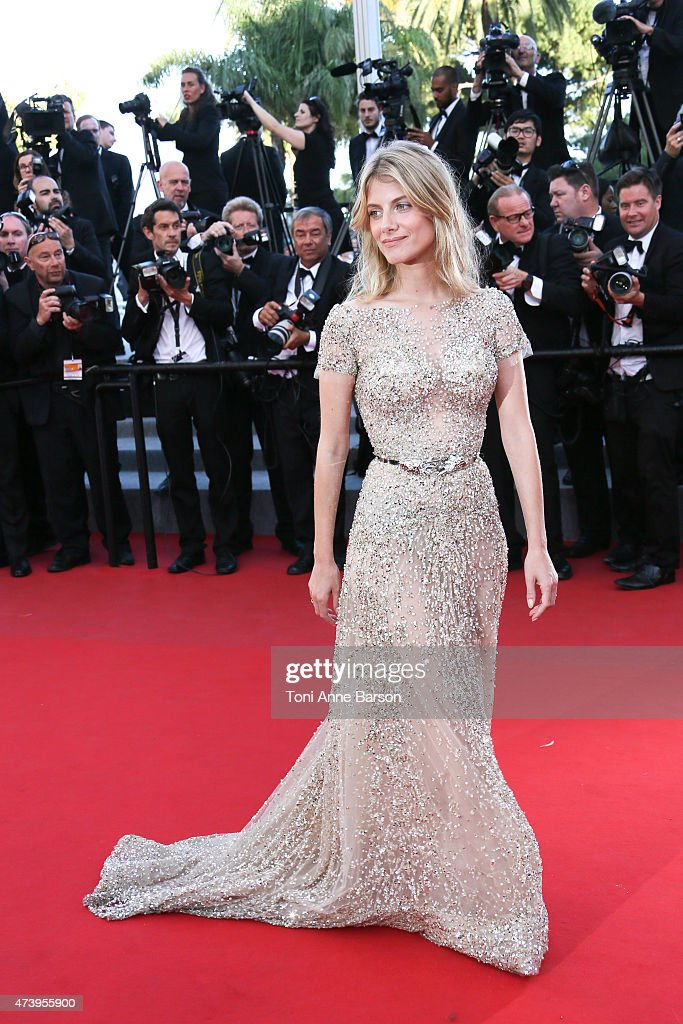 Melanie Laurent attends the 'Inside Out' premiere during the 68th annual Cannes Film Festival on May 18, 2015 in Cannes, France.