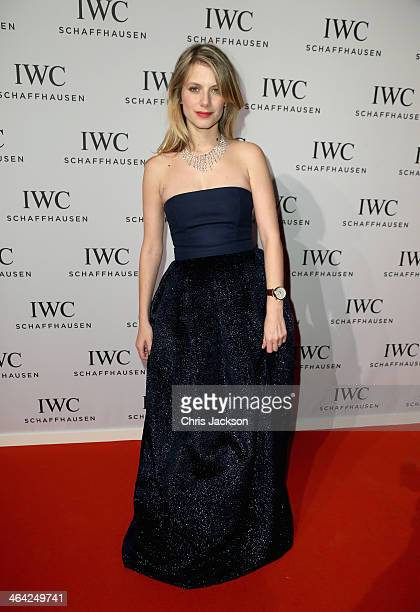 Melanie Laurent attends the IWC Inside The Wave Gala during the Salon International de la Haute Horlogerie 2014 at the Palexpo on January 21 2014 in...
