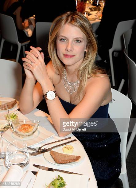 Melanie Laurent attends the IWC 'Inside The Wave' Gala event during the Salon International de la Haute Horlogerie 2014 at Palexpo on January 21 2014...