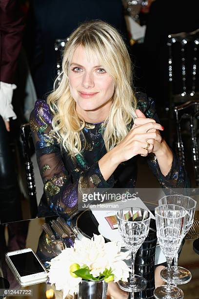 Melanie Laurent attends the Lonchamp dinner as part of the Paris Fashion Week Womenswear Spring/Summer 2017 at Longchamp Boutique St Honore on...