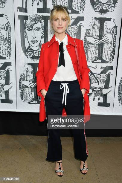 Melanie Laurent attends the Miu Miu show as part of the Paris Fashion Week Womenswear Fall/Winter 2018/2019 on March 6 2018 in Paris France