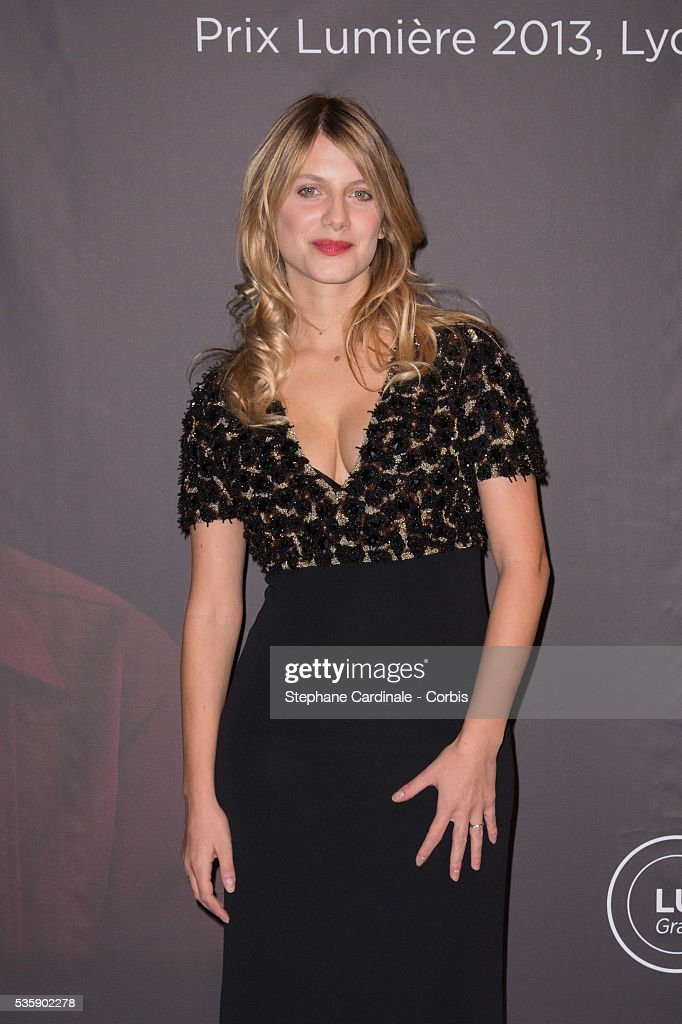 Melanie Laurent attends the Tribute to Quentin Tarantino, during the 5th Lumiere Film Festival, in Lyon.