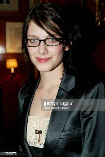 Melanie Laurent during 2007 Cesars Awards Nomination Dinner at Le Fouquet's in Paris France
