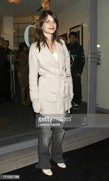Melanie Laurent during Auction of Grace Kelly Photographs for The Princess Grace of Monaco Foundation in Paris November 29 2006 at Galerie 75...