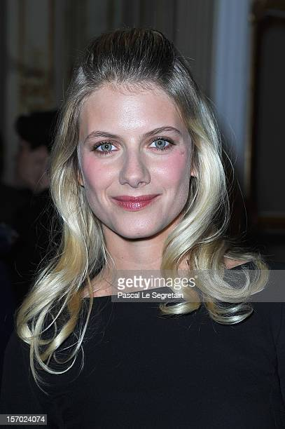 Melanie Laurent poses at Ministere de la Culture on November 27 2012 in Paris France