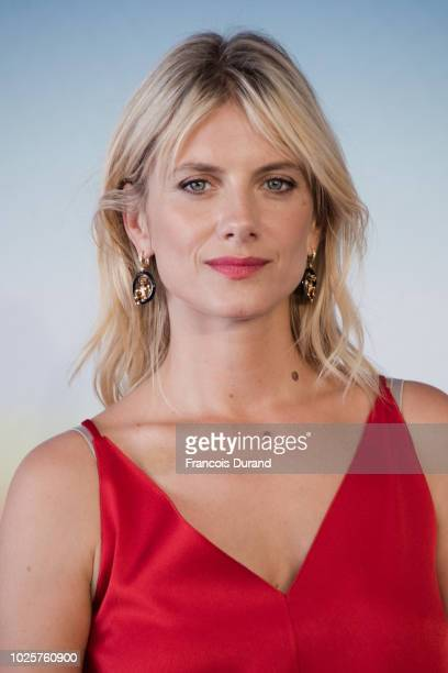 "Melanie Laurent poses during a photocall to present the film ""Galveston"" during the 44th Deauville US Film Festival on September 1, 2018 in..."