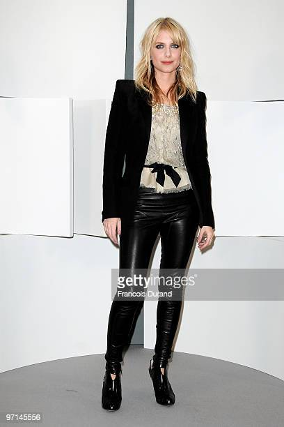 Melanie Laurent poses in Awards room during 35th Cesar Film Awards at Theatre du Chatelet on February 27 2010 in Paris France