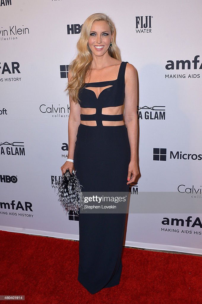 Melanie Lazenby attends the amfAR Inspiration Gala New York 2014 at The Plaza Hotel on June 10, 2014 in New York City.