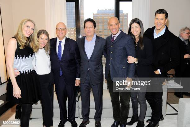 Melanie Lazenby Dina Lewis Howard Lorber Ziel Feldman John Gomes Alicia Goldstein and Fredrik Eklund attend 11 Beach Model Residence Unveiling Event...