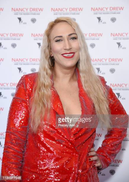 Melanie Leanne Miller attends the red carpet premiere of 'Nancy Drew and the Hidden Staircase' at AMC Century City 15 on March 10 2019 in Century...