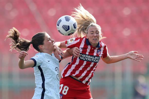 ITA: Atletico Madrid v Chelsea FC Women  - Women's UEFA Champions League Round Of 16 Leg Two